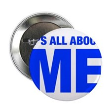 """ITS-ME-HEL-BLUE 2.25"""" Button"""