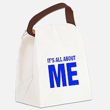 ITS-ME-HEL-BLUE Canvas Lunch Bag