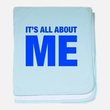 ITS-ME-HEL-BLUE baby blanket