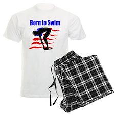 BORN TO SWIM Pajamas