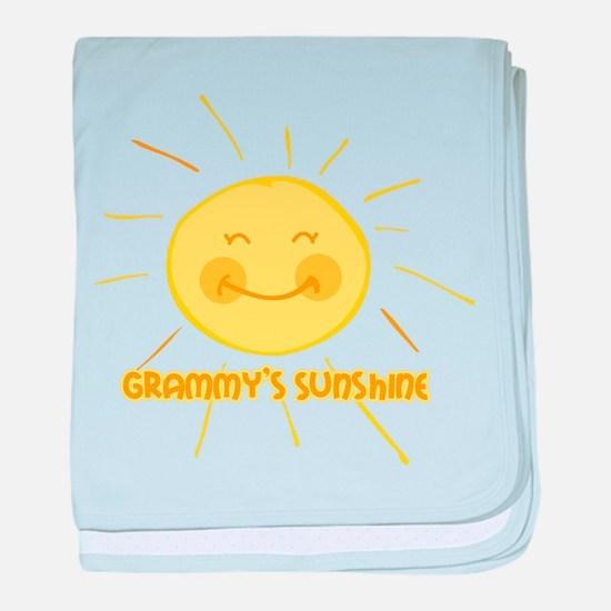 Grammy's Sunshine baby blanket