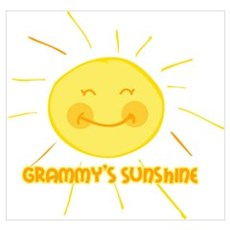 Grammy's Sunshine Wall Art Poster