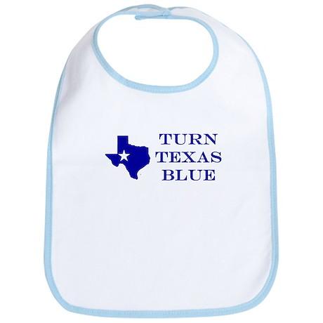 Turn Texas Blue Bib