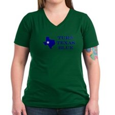 Turn Texas Blue T-Shirt