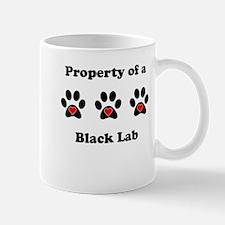 Property Of A Black Lab Mugs