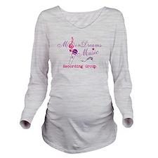 MoonDreams Music Long Sleeves Maternity t-shirt