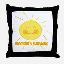 Mamaw's Sunshine Throw Pillow