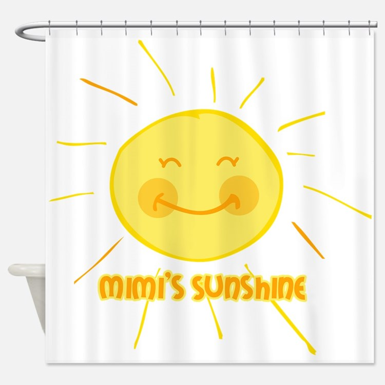 Mimi's Sunshine Shower Curtain