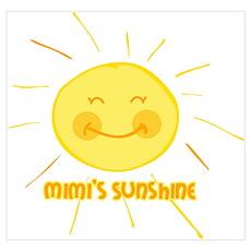 Mimi's Sunshine Wall Art Poster