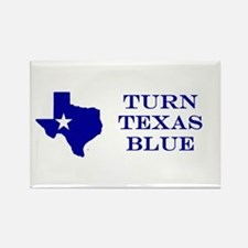 Turn Texas Blue Stkr Magnets
