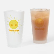 Oma's Sunshine Drinking Glass