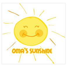 Oma's Sunshine Wall Art Poster