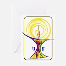 UU Unity Chalice Greeting Cards