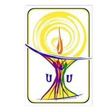 UU Unity Chalice Postcards (Package of 8)