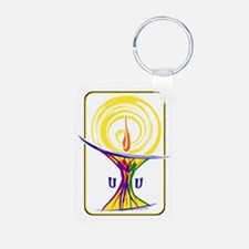 UU Unity Chalice Keychains