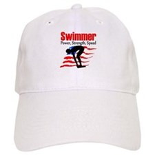 LOVE TO SWIM Baseball Baseball Cap