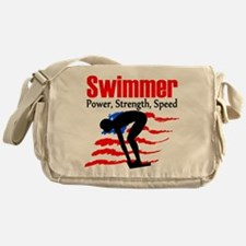 LOVE TO SWIM Messenger Bag