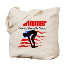 LOVE TO SWIM Tote Bag