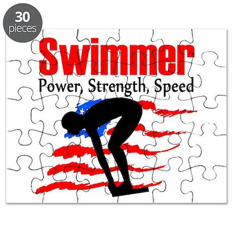 LOVE TO SWIM Puzzle