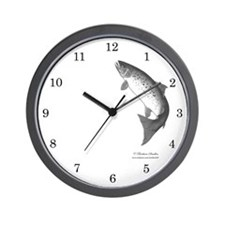Salmon Wall Clock