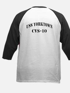 USS YORKTOWN Kids Baseball Jersey