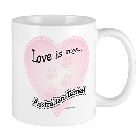 Love is my Australian Terrier Mug