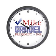 Obama for Pres. Wall Clock