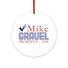 Obama for Pres. Ornament (Round)