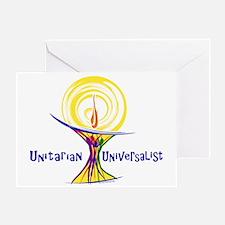 UU Unity Chalice Greeting Cards
