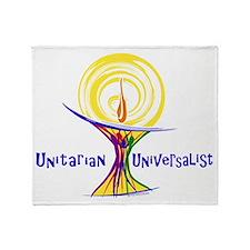 UU Unity Chalice Throw Blanket