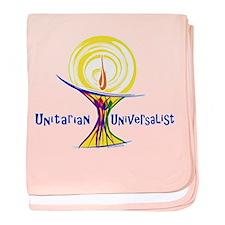 UU Unity Chalice baby blanket