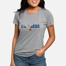 Unique Colorado Womens Tri-blend T-Shirt
