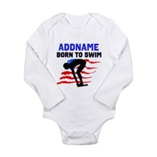 BORN TO SWIM Baby Suit