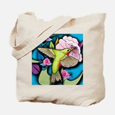 Janelle's Hummingbird Tote Bag