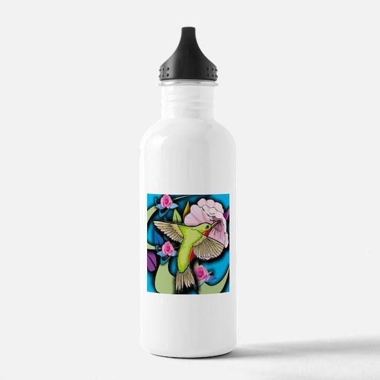Janelle's Hummingbird Water Bottle