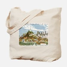Vintage Travel Poster San Francisco Tote Bag