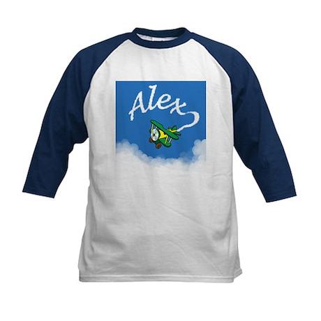 Aviator Alex Kids Baseball Jersey