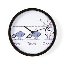 Duck, duck,goose Wall Clock