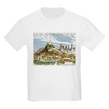 Vintage Travel Poster San Francisco T-Shirt