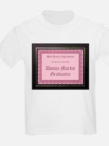 Donna Martin Graduates Kids T-Shirt