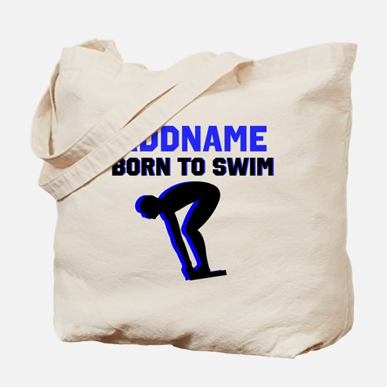 SWIMMER CHAMP Tote Bag