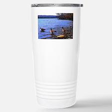 Autumn Lake Travel Mug