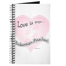 Love is my Doberman Pinscher Journal