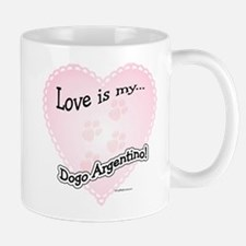 Love is my Dogo Mug