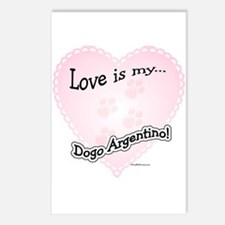 Love is my Dogo Postcards (Package of 8)