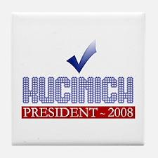 Obama for Pres. Tile Coaster