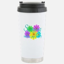Singing Happiness Travel Mug