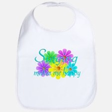 Singing Happiness Bib