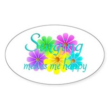 Singing Happiness Decal