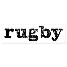 rugby Bumper Car Sticker